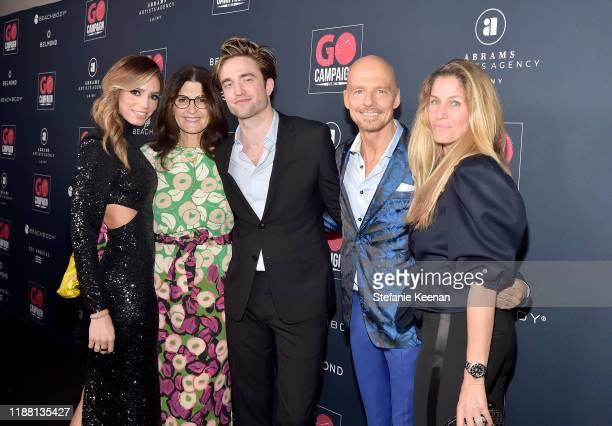 GO Campaign Director of Development Gina Katz Daryl Offer Robert Pattinson GO Campaign Founder CEO Scott Fifer and Nanci Frenkel attend the GO...