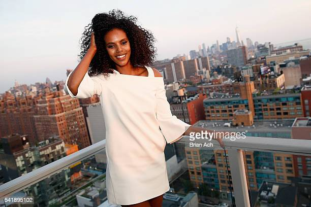 Campaign Model Grace Mahary attends the MIZANI 25th Anniversary Celebration and Styling Renaissance Launch hosted by Global Artistic Director and...