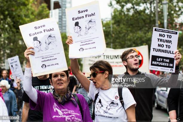 Campaigners for cartoonist Ali Dorani who goes by the pen name Mr Eaten Fish demand he be allowed into Australia for medical care of his mental and...