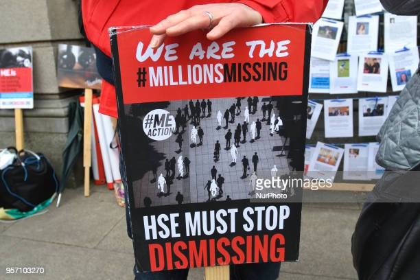 Campaigners for #MillionsMissing a movement to raise awareness for ME an underfunded and ignored disease ask for increased government funding for...