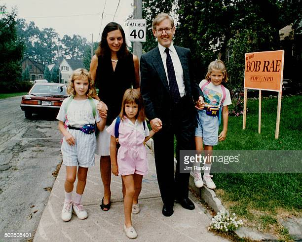 Campaigning family style When NDP leader Bob Rae hit the campaign trail last summer he had no inkling voters would make him premier of the province...