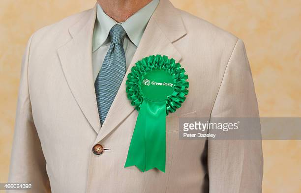 Campaigning for Green Party