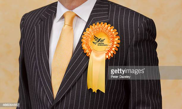 Campaigning for Liberal Democrats political party