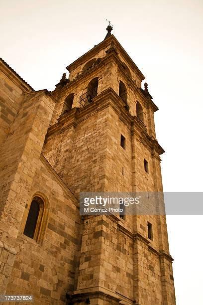 campanario - alcala de henares stock pictures, royalty-free photos & images