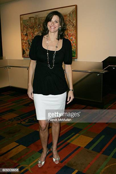 Campbell Brown attends MARTHA STEWART SIRIO MACCIONI and ANDREW BORROK Host a Lucheon to Celebrate 'NO RESERVATIONS' at Le Cirque on July 26 2007 in...