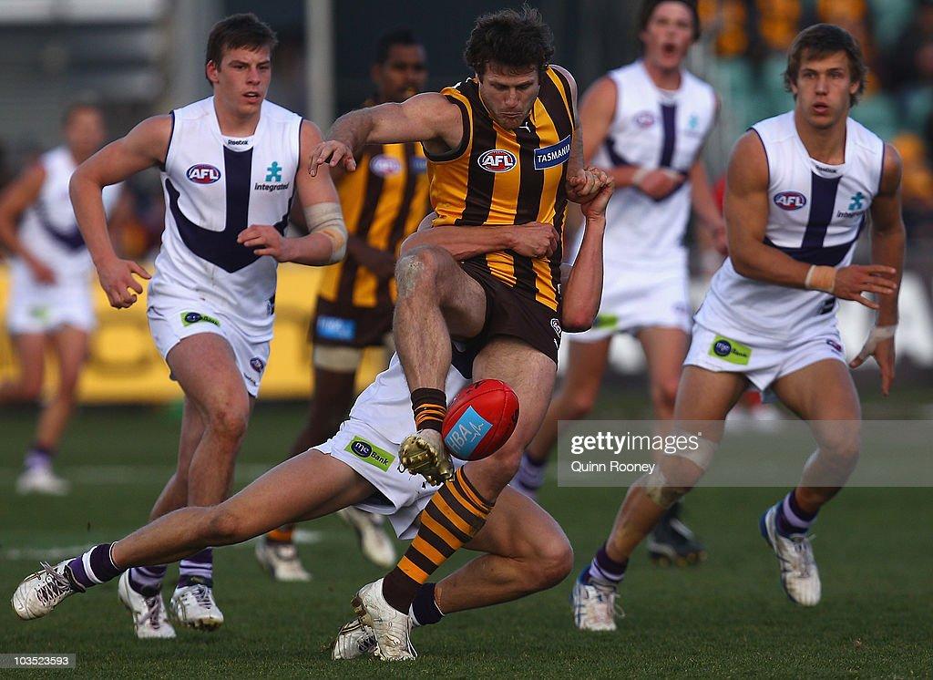 AFL Rd 21 - Hawks v Dockers