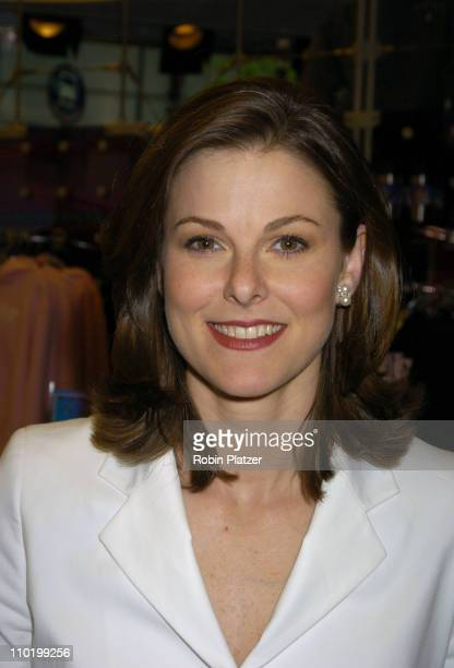 Campbell Brown of The Weekend Today show during The Launch of the 2004 US Olympic Team Collection by Roots by Olympic Athletes at The NBC Experience...