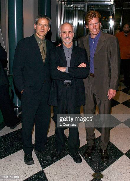 Campbell Scott Alan Rudolph and Denis Leary during Special Screening of The Secret Lives of Dentists at Walter Reade Theater at Lincoln Center in New...