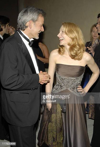 Campbell Scott and Patricia Clarkson during Gala Dinner Introducing Ben and Izzy with Special Guest Her Majesty Queen Rania AlAbdullah of Jordan at...