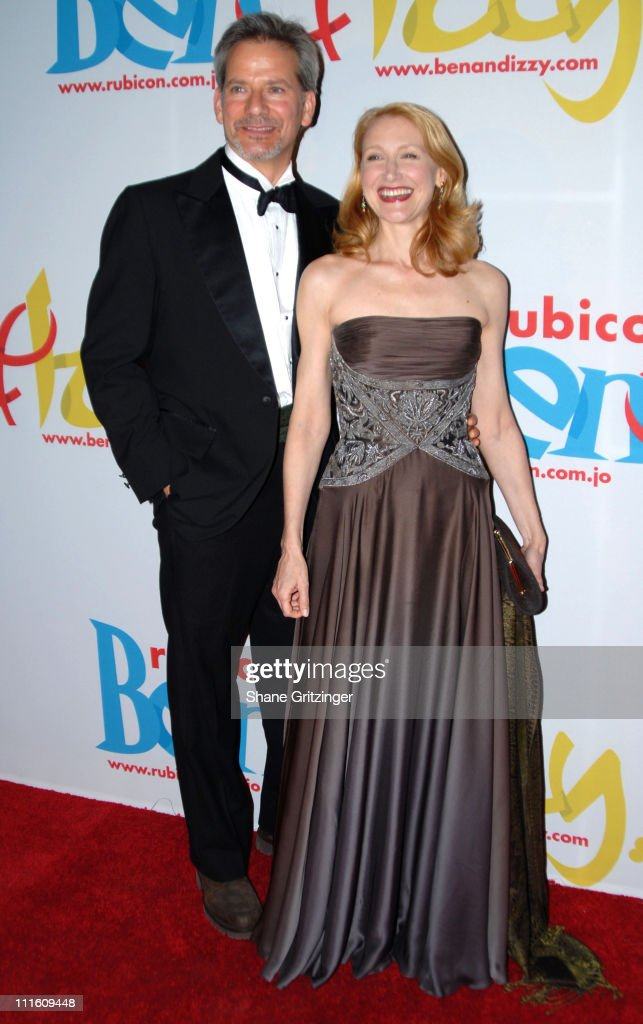 Campbell Scott and Patricia Clarkson during Rubicon's 'Ben and Izzy' Gala with Special Host Her Majesty Queen Rania Al-Abdullah of Jordan at The Metropolitan Museum Of Modern Art in New York City, New York, United States.