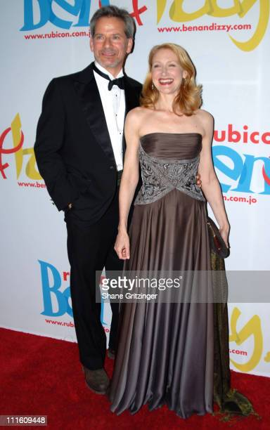 """Campbell Scott and Patricia Clarkson during Rubicon's """"Ben and Izzy"""" Gala with Special Host Her Majesty Queen Rania Al-Abdullah of Jordan at The..."""