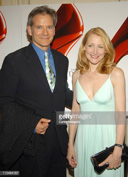 "Campbell Scott and Patricia Clarkson during ""The Devil Wears Prada"" - A Dinner and Private Auction Hosted by the St. Regis Hotel - May 23, 2006 at..."