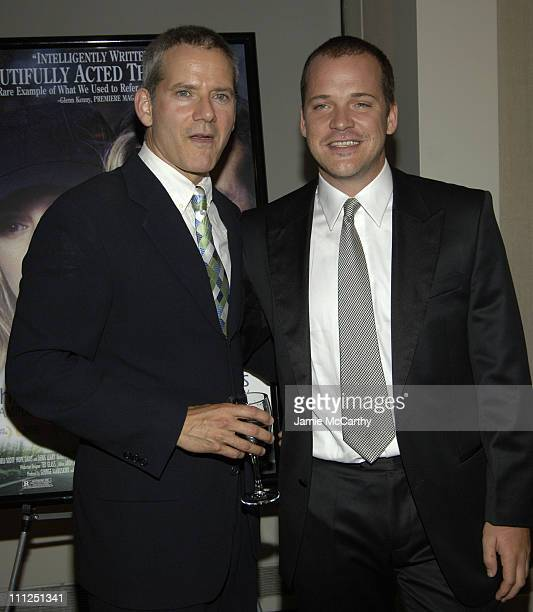 Campbell Scott and Peter Sarsgaard during 5th Annual Young Friends of Film Honors Campbell Scott at Furman Gallery at The Walter Read Theater Lincoln...