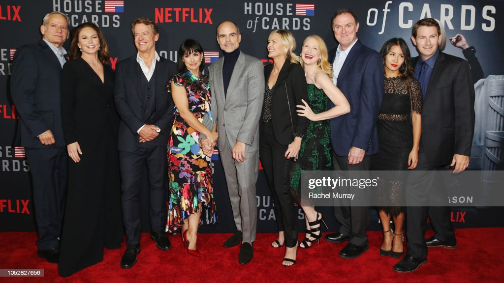'House of Cards' Season 6 World Premiere
