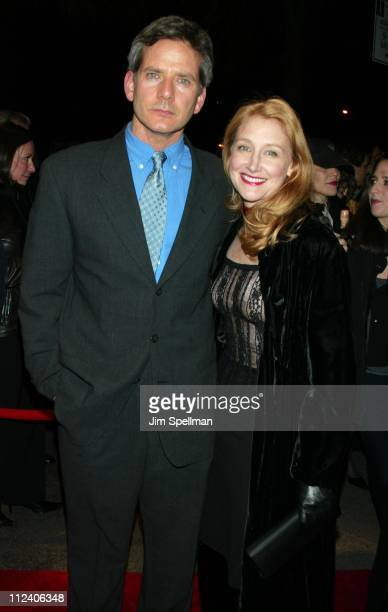 Campbell Scott Patricia Clarkson during Far From Heaven New York Premiere Arrivals at Beekman Theater in New York City New York United States