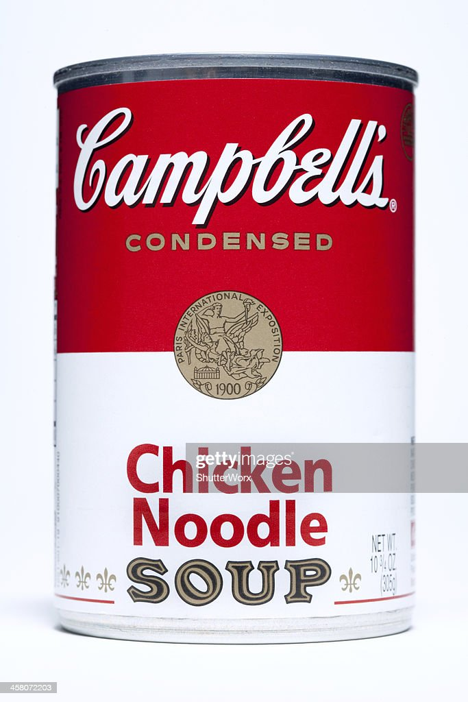 Campbell's Chicken Noodle Soup : Stock Photo
