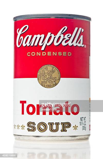 campbell's tomato soup - tomato soup stock photos and pictures