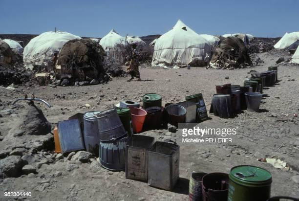 Campement du FLSO dans l'Ogaden Somalie