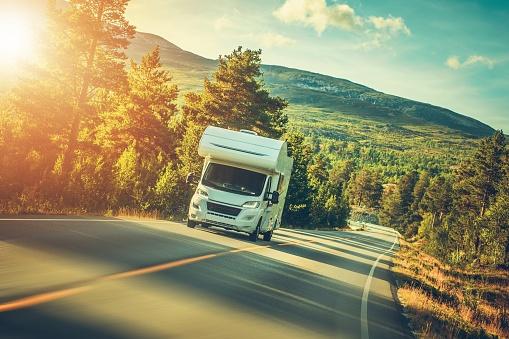 Camper Van Summer Trip 1023079358