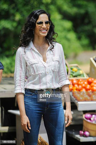 TOP CHEF 'Campfires Cream Cheese and Countryside' Episode 1106 Pictured Host Padma Lakshmi