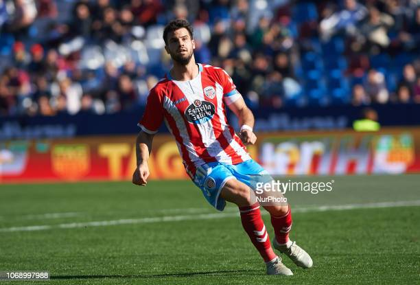 Campillo of Club Deportivo Lugo during the Copa del Rey match between Levante UD and Club Deportivo Lugo at Ciutat de Valencia Stadium on December 6...