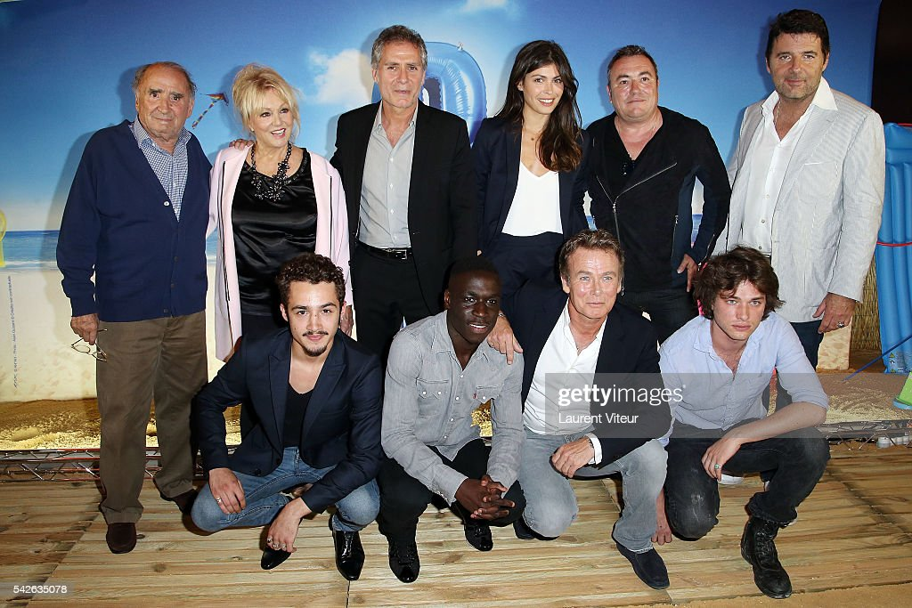 """Camping 3"" Paris Premiere At Gaumont Marignan In Paris"
