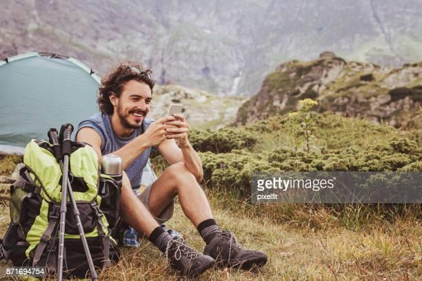 Camping und Kommunikation