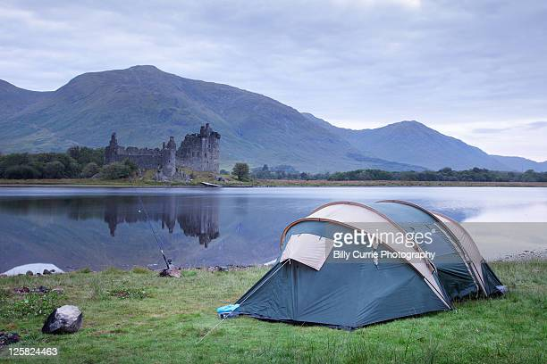 Camping at castle kilchurn