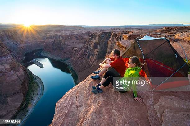 Camping at the edge