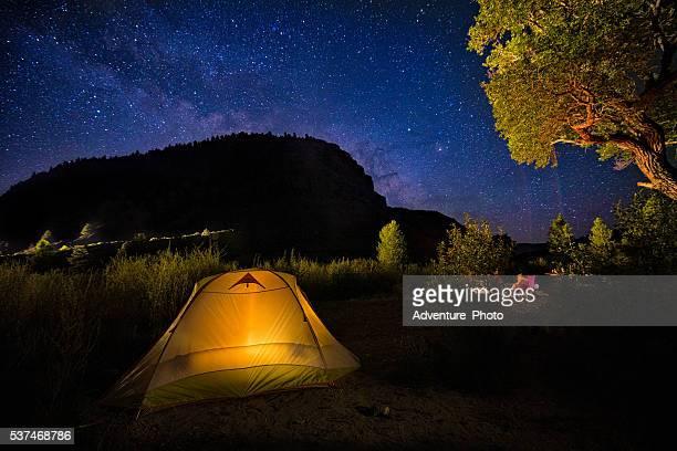 Camping Below the Stars
