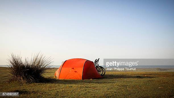 Camping by the black sea