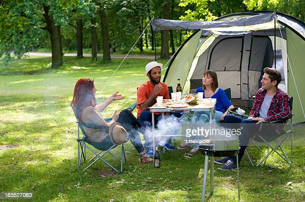 Camping-Spaß