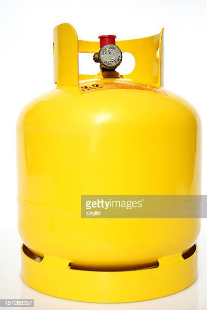camping gas cylinder - cylinder stock pictures, royalty-free photos & images