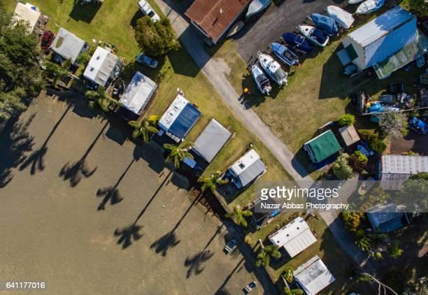Camping Ground, Stillwater, Auckland, New Zealand.