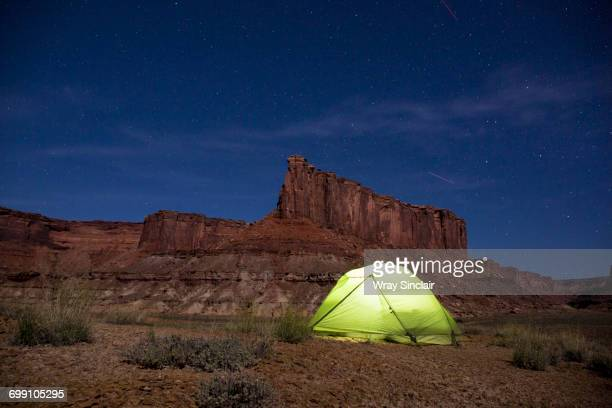 Camping in Canyonlands National Park