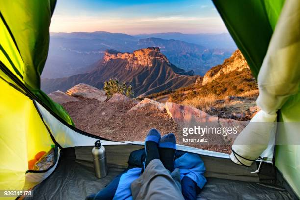 camping in mexico - viewpoint stock pictures, royalty-free photos & images