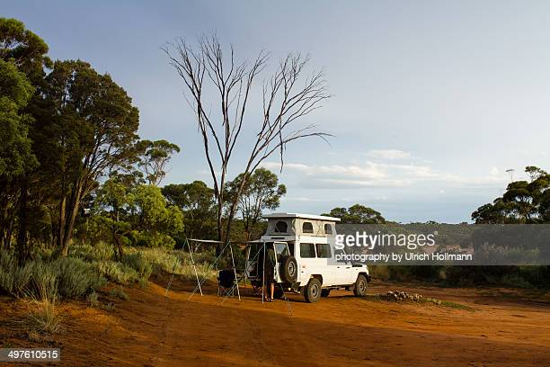 Camping in Outback Australia