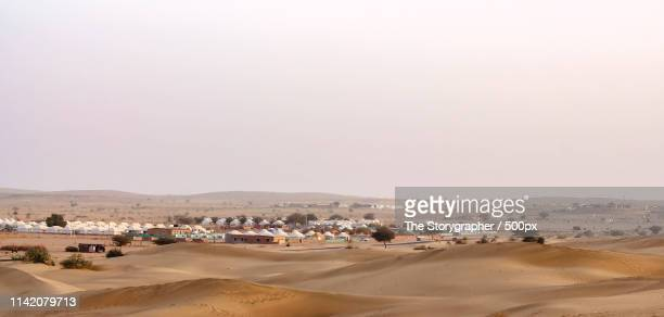 camping in thar desert - the storygrapher stock pictures, royalty-free photos & images