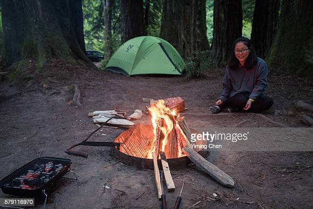 Camping in the Wood