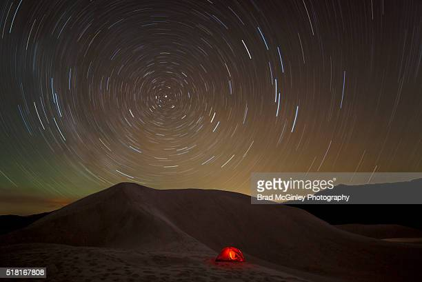 camping the dunes - great sand dunes national park stock pictures, royalty-free photos & images