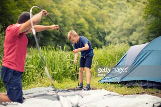 Camping tiempo