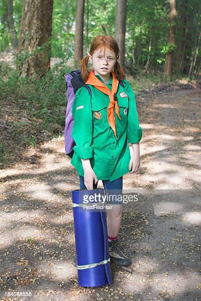 camping mit scouts - pfadfinder stock-fotos und bilder