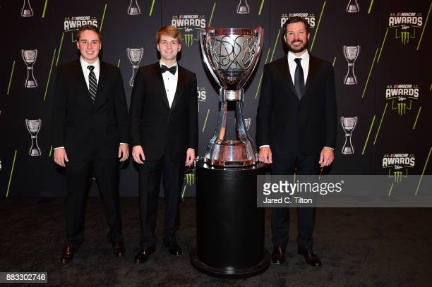 NASCAR Camping World Truck Series Champion Christopher Bell NASCAR XFINITY Series Champion William Byron and Monster Energy NASCAR Cup Series...