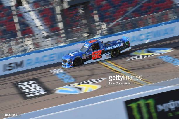 Camping World Truck Series Championship contender Stewart Friesen Halmar Friesen Racing Chevrolet on the track during practice session at the NASCAR...
