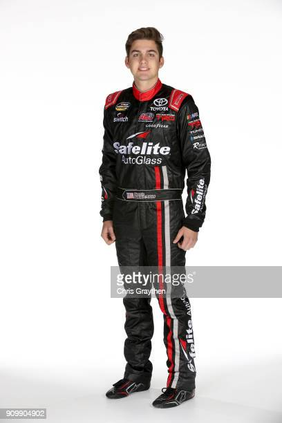 Camping World Truck Series driver Noah Gragson poses for a photo during the NASCAR Media Tour at Charlotte Convention Center on January 23 2018 in...