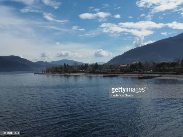 Campings and Pebble Beach, Cannobio, Lake Maggiore