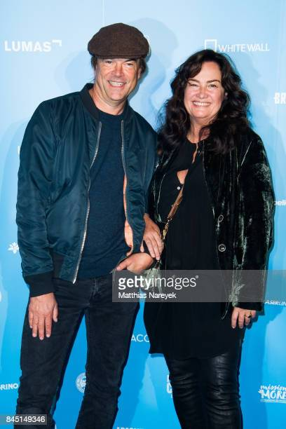 Campino and Gabo attend the 'Gabo Fame' Exhibition Opening at HumboldBox on September 9 2017 in Berlin Germany