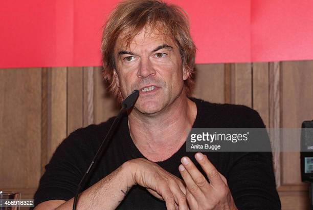 Campino attends the 'Band Aid Thirty' press conference at Soho House on November 13 2014 in Berlin Germany