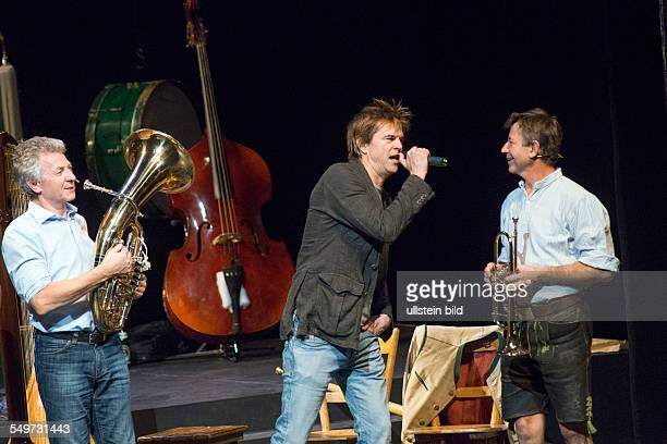 Campino Musician Singer Germany with 'Biermoesel Blosn' Geschwister Well special guest Campino at Berliner Ensemble