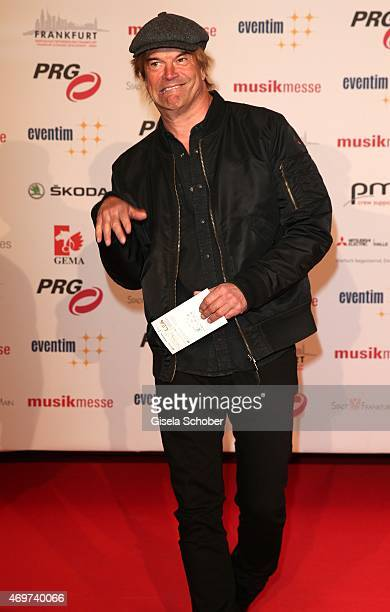 Campino singer of Tote Hosen during the LEA Live Entertainment Award 2015 at Festhalle Frankfurt on April 14 2015 in Frankfurt am Main Germany